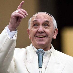 Roma 19/01/2014Papa Francesco va in visita nella parrocchia Sac