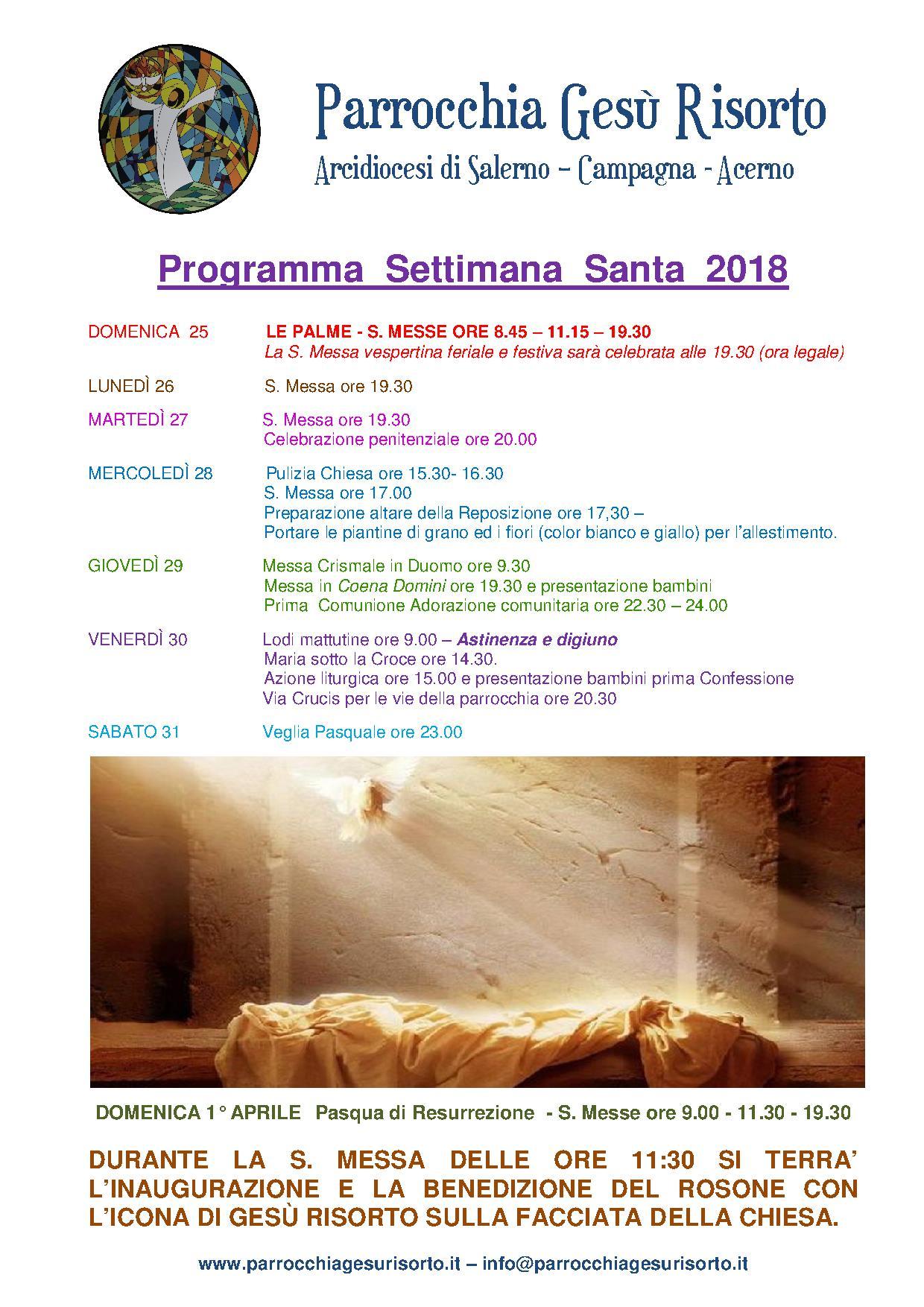 P027 parrocchia ges risorto salerno arcidiocesi for Pulizie domestiche salerno