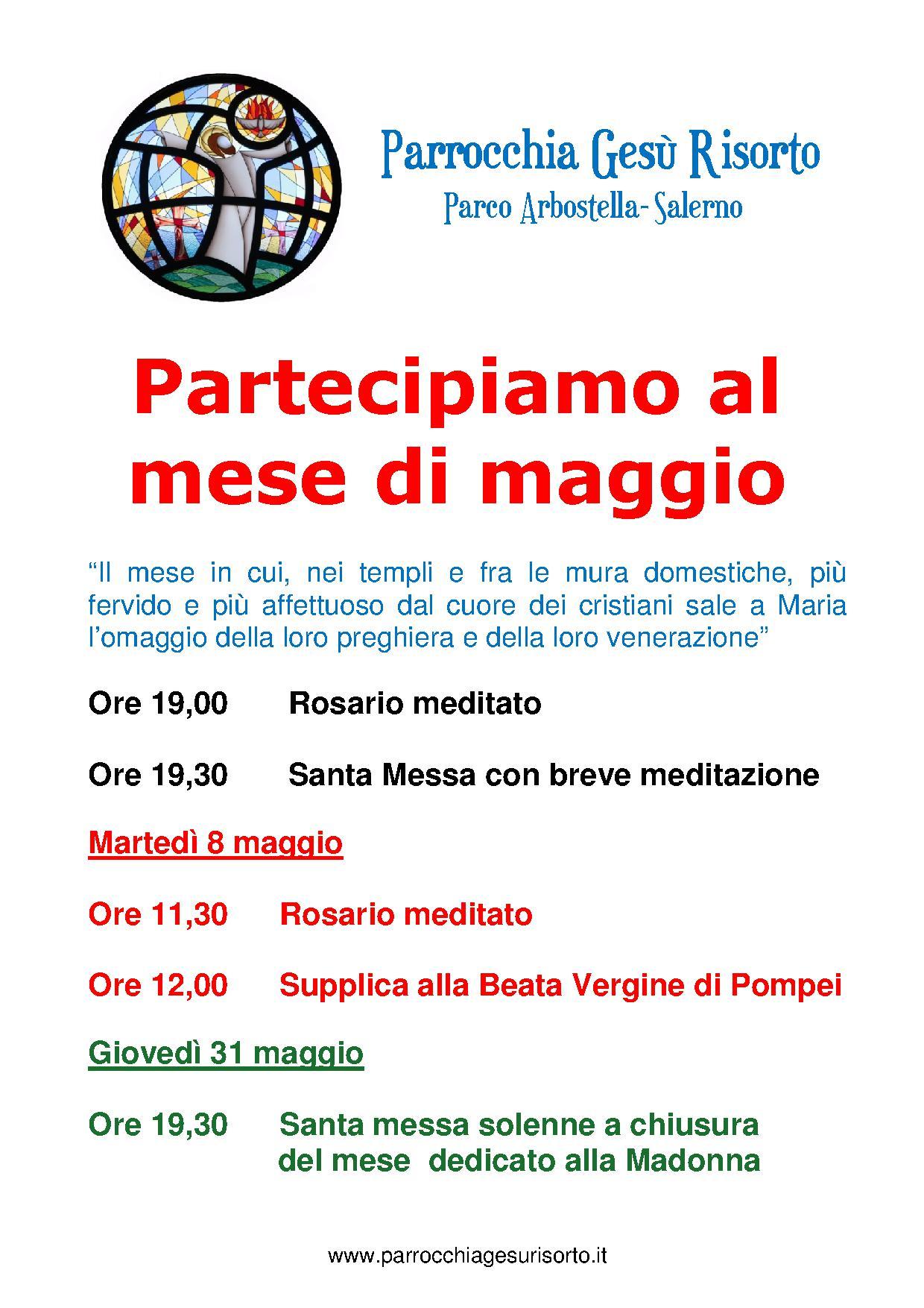 Eventi in parrocchie arcidiocesi for Pulizie domestiche salerno